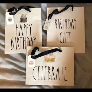 Rae Dunn Gift Bags Set